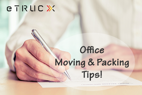 Office Moving and Packing Tips